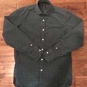 J Crew Men's Button Down Shirt Sz Small